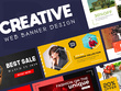 Create eye-catching web banner/ AD banner (6 Size)