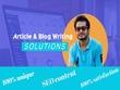 Write unique & informative 500 words SEO articles & Blogs