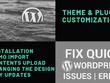 Customize WordPress Theme And Plugin