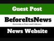 Publish a guest post on BeforeItsNews.com DA82 Dofollow Backlink
