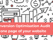 Turn website visitors into customers with a conversion audit