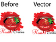 Convert your logo or graphics into vector