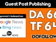 Premium  Guest post on FutureScope  DA 66 [Limited Offer]