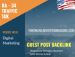 USA Digital Marketing Related 10000 Traffic 34 DA Guest post lin