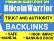 Publish Guest post on BitcoinWarrior DA 46 with Dofollow Links