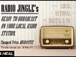 Write & compose tailored Radio Jingle - READY TO BROADCAST.