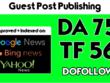 Guest Post On My Da 75 Tech News Blog With Dofollow Link