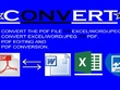 Convert 100 PDF file to Excel/Word/Jpeg.