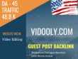 USA Video Editing Related 48800 Traffic 45 DA Guest post link