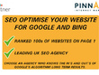 SEO Optimise Your Website For Google and Bing