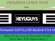 Get You Permanent DOFOLLOW Backlink on Heyuguys.com - DA64