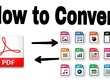 Convert,Edit, retype PDF to Word, PPT, Text and HTML etc