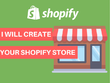 Create One Product Shopify Store