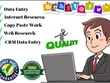 Do Top Grade Internet Research and Data entry For 4 Hours