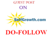 Publish Dofollow guest post on selfgrowth.com DA-77