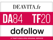 Publish a guest post on deavita.fr - DA84