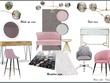 Create a moodboard, furniture board, 2D plan, 3D visuals