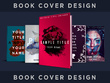Design you a beautiful book cover in any style!