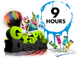 Be your graphics designer for 9 hours