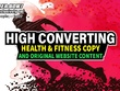 Be Your Health & Fitness Copywriter & Blog Writer