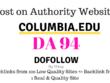 Publish guest post on columbia.edu, DA94, dofollow backlink