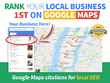 Rank your local business 1st on Google Maps.