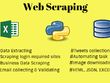 Do Web Scraping,  Data Crawling, Data Collection From Websites