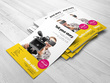 Design, print and deliver 1000 single sided A5 flyers / leaflets