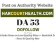 Publish Guest Post on harcourthealth.com, DA53