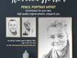 Offer an A4 pencil portrait from photograph, delivered to you