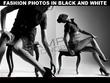 Fashion photos in black and white (20 photos)