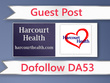 Guest post on Harcourt Health - harcourthealth.com - DA53