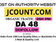 Publish Do Follow Guest Post on Jcount.com Premium Website Link