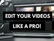Professionally edit your youtube video editing