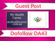 Guest post on My Health Career - myhealthcareer.com.au - DA43