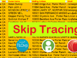 Provide skip tracing and Property Record Research.