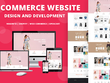 Develop a responsive E-commerce Website in WordPress or Magento