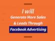 Generate More Sales & Leads Through Facebook Advertising