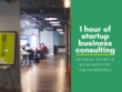 Provide 1 hour of startup business consulting