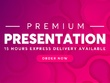 Design 20 Editable Slides PowerPoint Presentation with Revisions