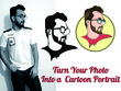 Draw avatar or cartoon portrait with your signature