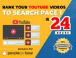 Rank Your Youtube Videos To Search Page 1 In 24 Hours
