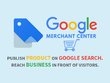 Add website in google search console and setup merchant account