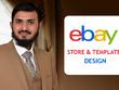 Design and install a custom ebay store/shop template