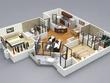 Convert your 2D plan to 3D floor plan