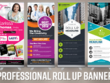 Design Modern Roll Up Banner/Standees