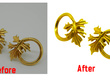 Background Removal and Retouch of 250 images and fast delivery