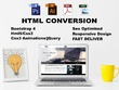 Convert PSD To HTML Responsive Design With Bootstrap 4