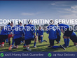 Content Writing for Recreation & Sports Blogs
