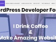 Make wordpress website with blog